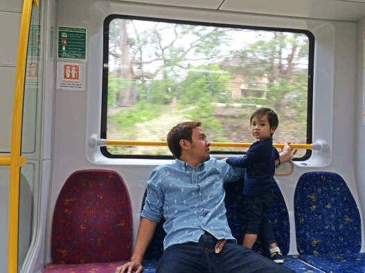 Nyaman di kereta