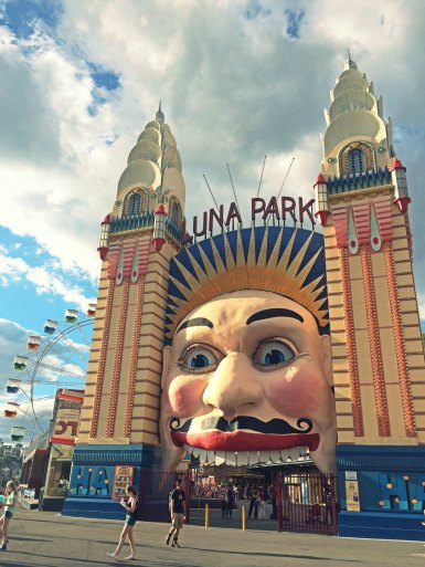 Luna park one of the iconic place in sydney