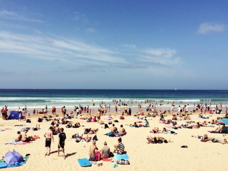 The Famous manly beach