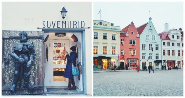 Suka jalan-jalan juga, ini saat di Old Town, Tallinn, Ibu kotanya Estonia yang bisa ditempuh dengan kapal ferry dari Helsinki.