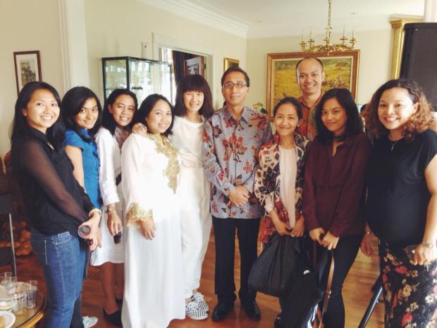Lebaran di Wisma Indonesia