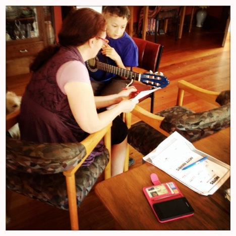Berlatih musik