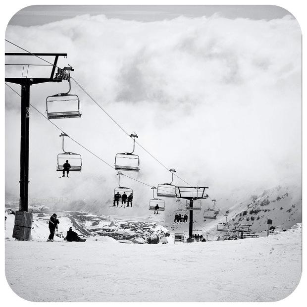 Skiing di Mount Ruapehu