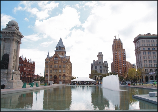 3. Clinton Square - Downtown Syracuse