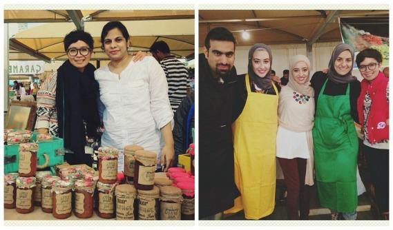 Best experience ever in Kuwait: We met wonderful & creative people.
