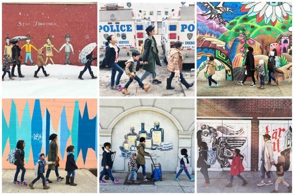 Mengisi bulan-bulan pertama di NY dengan berkeliling. Salah satu yang menarik perhatian kami (dari sekian banyak hal lainnya yang juga sangat menarik!) adalah: mural dan street art di kota ini.