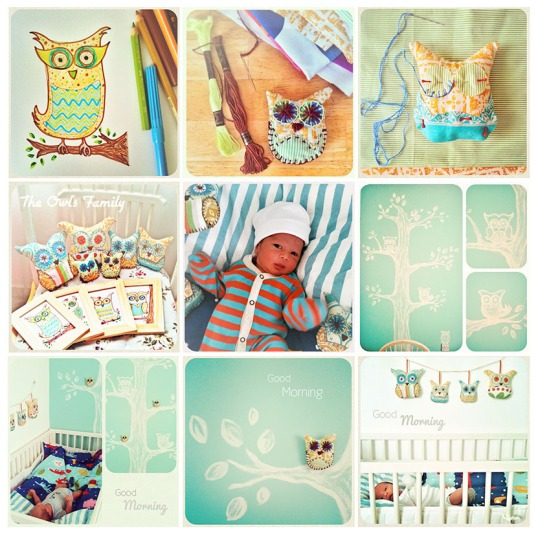Rafan's baby crib