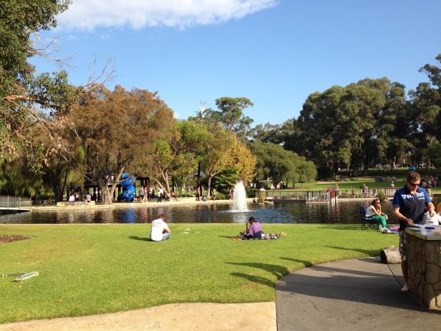Fave places to go 4 Synergy Parkland salah satu taman di Kings Park