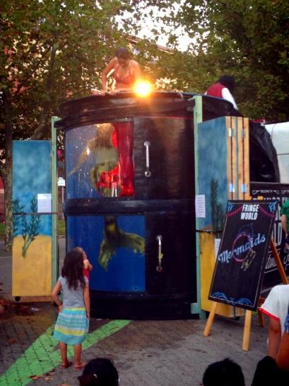 Mermaid Tank part of Fringe World 2014