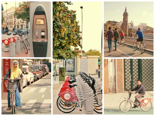 Bersepeda di Sevilla
