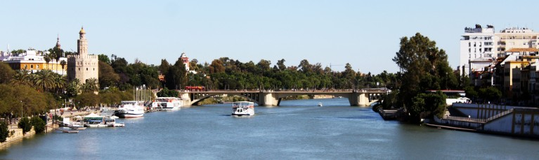Guadalquivir River - The View from Triana