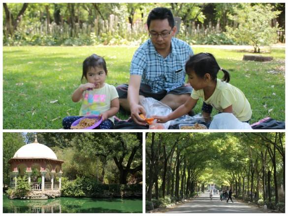 Piknik di Parque Maria Luisa