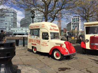 Ice Cream Stall at Albert Dock