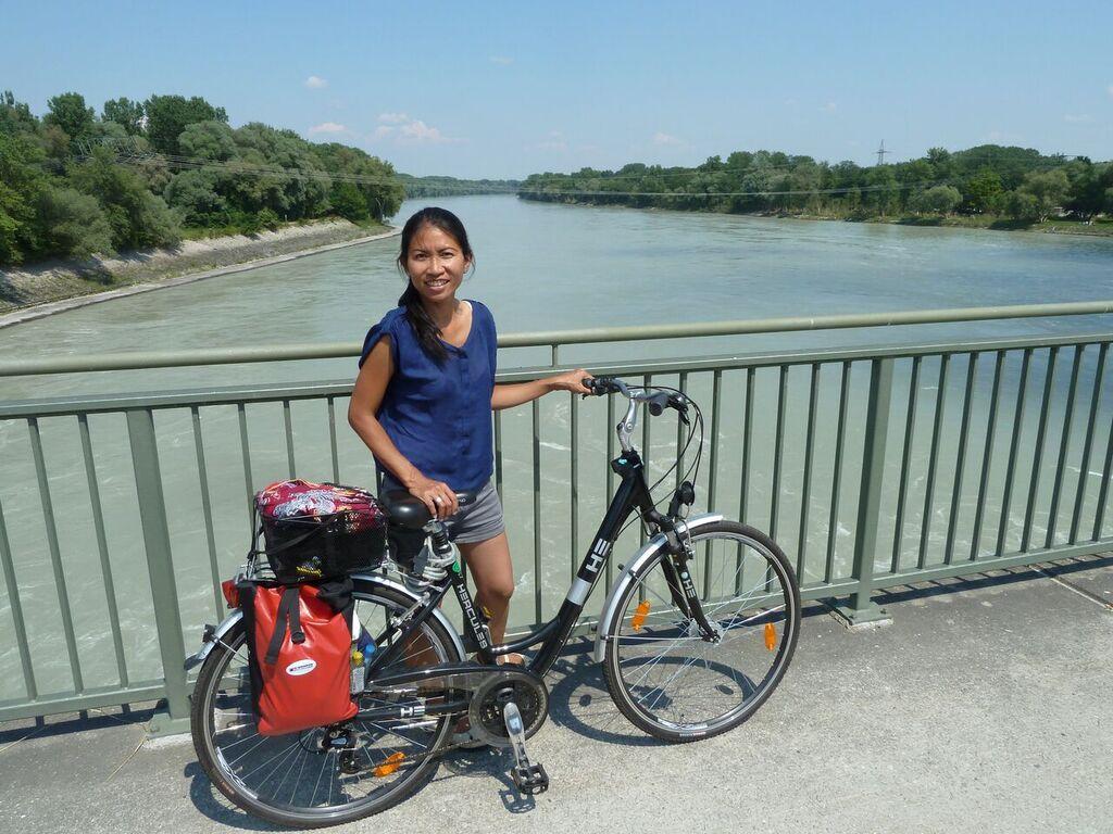 bike tour di kota Eigen am Inn%2C perbatasan Jerman Selatan dan Austria