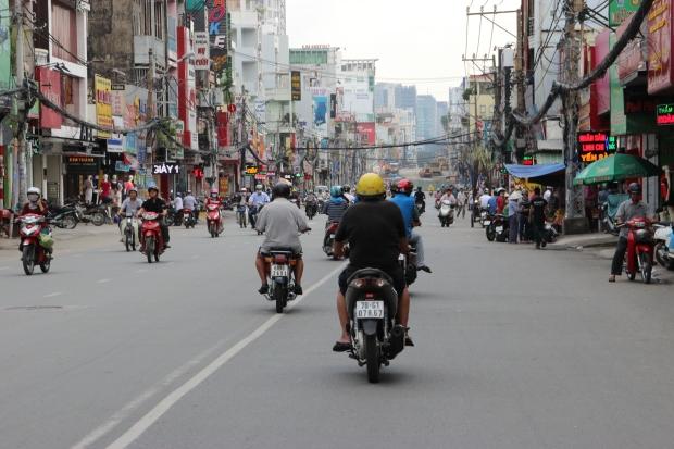 lalu lintas Saigon