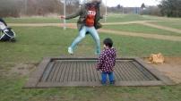Trampoline di Hyte Park