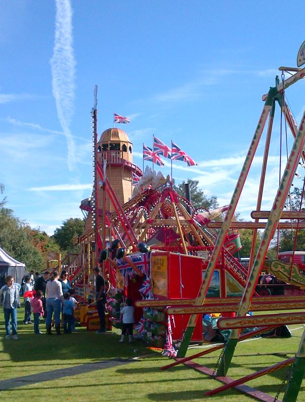 Foto 26. Steam fair di Englefield green