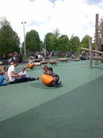 Foto 34b. Taman favorit Athar di London, letaknyanya didekat London's eye