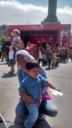 Foto 38b.Acara Hello Indonesia di Trafalgar Square