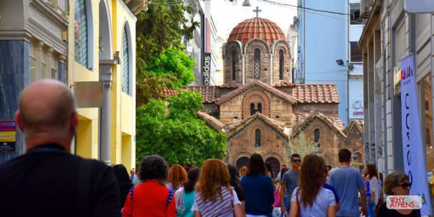 athens-greece-ermou-street-panagia-church