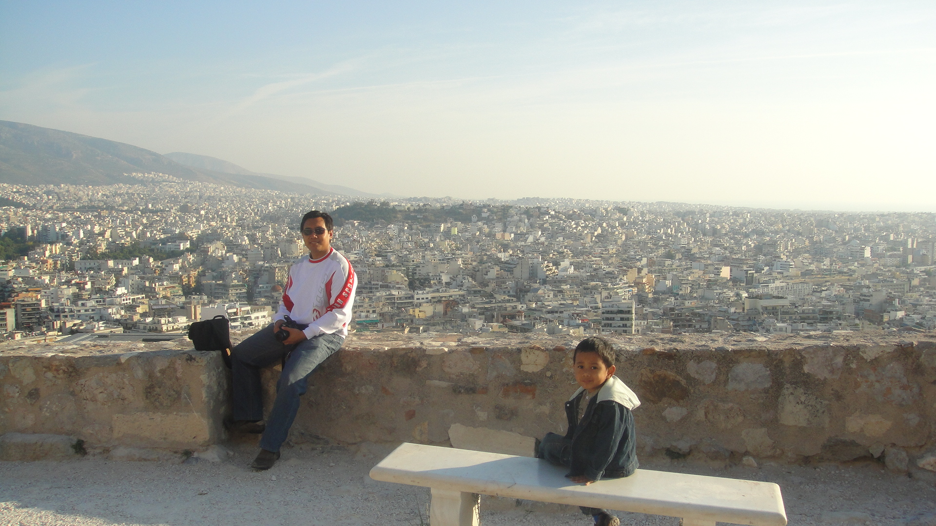 pemandangan Athena dr Acropolis