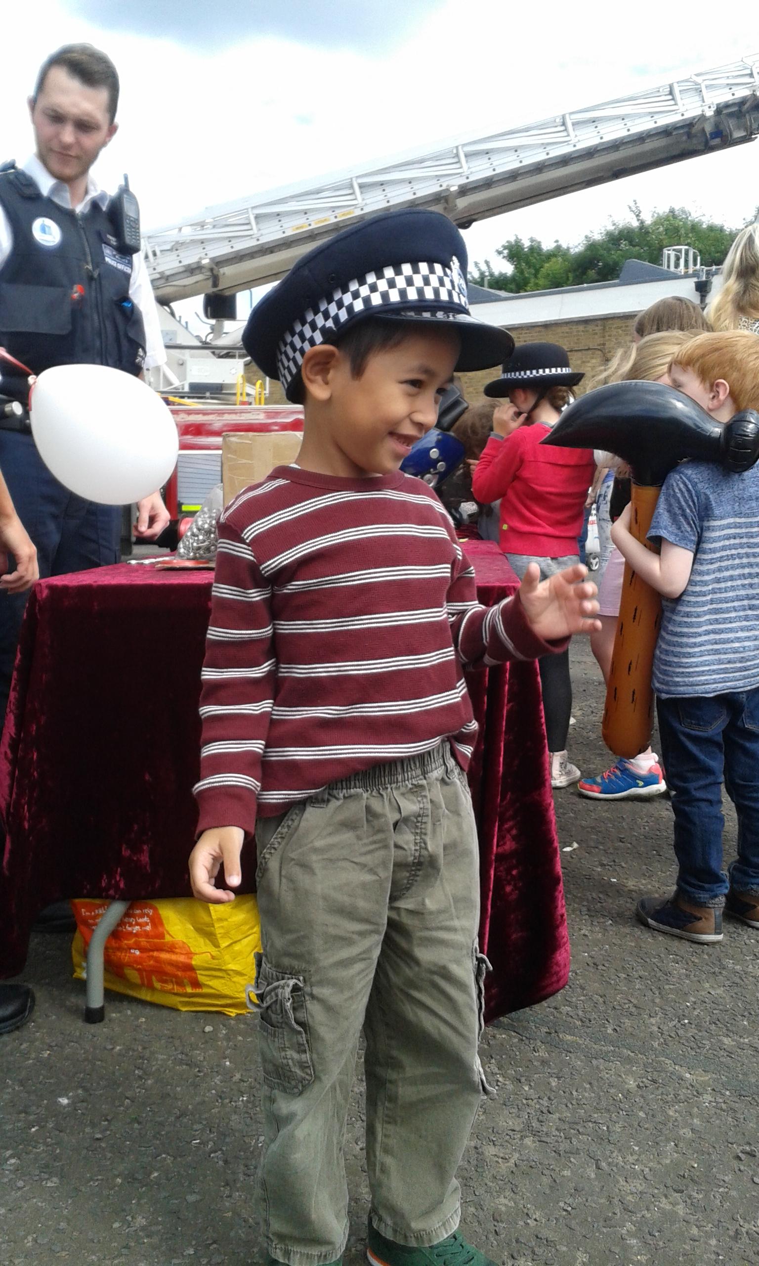 di acara open house metropolitan police dan london fire brigade